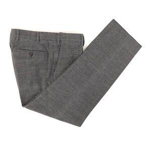 Loro Piana Mainline Cotton Flat Front Pants 33X29